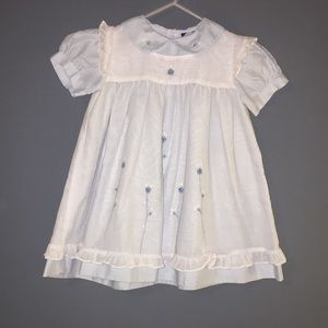 Vintage Carriage Boutiques Baby Girl Dress Lace